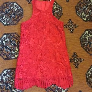 lovers + friends red caspian dress size S